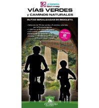 Radführer Vías Verdes y Caminos Naturales - Volumen/Band 2, Zona Sur/Süd Petirrojo