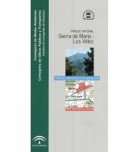 Wanderkarten Spanien Junta de Andalucía Mapa & Guía Sierra de María-Los Vélez 1:40.000 Junta de Andalucía