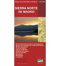 Wanderkarten Spanien Calecha-Wanderkarte Sierra Norte de Madrid 1:50.000 Calecha Ediciones