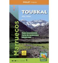 Wanderkarten Marokko Piolet Hiking Map Toubkal 1:40.000 Piolet