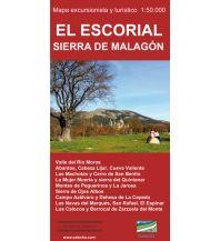 Wanderkarten Spanien Calecha-Wanderkarte El Escorial, Sierra de Malagón 1:50.000 Calecha Ediciones