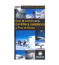 Skitourenführer Südeuropa Esquí de montaña en la Cordillera cantábrica y Picos de Europa Ediciones Desnivel