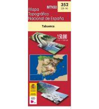 Wanderkarten Spanien CNIG-Karte MTN50 352, Tabuenca 1:50.000 Direccion General del Instituto Geografico Nacional