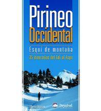 Skitourenführer Südeuropa Pirineo Occidental - Esquí de montaña Ediciones Desnivel