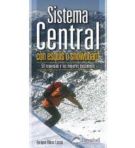 Skitourenführer Südeuropa Sistema Central con esquís o snowboard Ediciones Desnivel