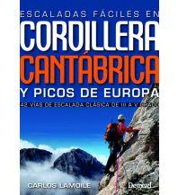 Alpinkletterführer Escaladas fáciles en Cordillera Cantábrica y Picos de Europa Ediciones Desnivel
