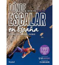 Sportkletterführer Südwesteuropa Dónde escalar en España Ediciones Desnivel