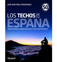 Wanderführer Los techos de España Ediciones Desnivel