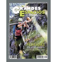 Klettersteigführer Desnivel Grandes espacios Outdoor Nummer 255, Ferratas de Pirineos Ediciones Desnivel
