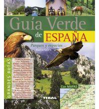 Reiseführer Guía verde de España/Naturreiseführer für Spanien Tikal