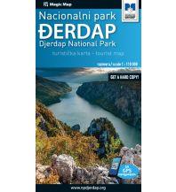 Straßenkarten Serbien Magic Map Serbien, Ðerdap Nationalpark 1:110.000 Magic map serbi