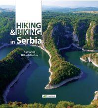 Wanderführer Hiking & Biking in Serbia Komshe