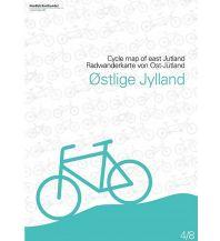 Radkarten Nordisk Radwanderkarte 4/8 Dänemark - Östjylland 1:100.000 Nordisk Korthandel