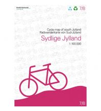 Radkarten Nordisk Radwanderkarte 7/8, Sydlige Jylland/Süd-Jütland 1:100.000 Nordisk Korthandel