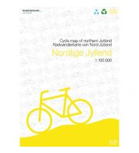 Radkarten Nordisk Radwanderkarte 5/8, Nordjylland/Nord-Jütland 1:100.000 Nordisk Korthandel