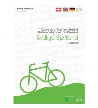 Radkarten Nordisk Radwanderkarte 2/8, Sydelige Sjælland 1:100.000 Nordisk Korthandel
