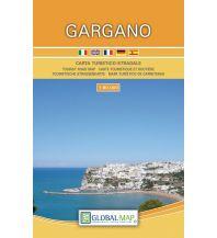 Straßenkarten Italien LAC Carta turistico-stradale Gargano 1:80.000 Global Map