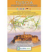 Straßenkarten Italien LAC Carta turistico-stradale Tuscia (Provincia di Viterbo) 1:140.000 Global Map