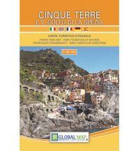 Wanderkarten Apennin Global Map WK Cinque Terre e il Golfo di La Spezia 1:35.000 Global Map
