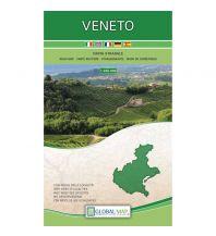Straßenkarten Global Map Straßenkarte Italien - Veneto 1:250.000 Global Map