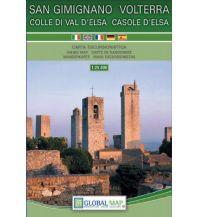 Wanderkarten Apennin Global Map-Wanderkarte Volterra, San Gimignano e Casole d'Elsa 1:25.000 Global Map