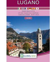 Stadtpläne Global Map Stadtplan Lugano 1:8.000 Global Map