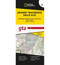 Weitwandern NG Kartenheft Grande Traversata delle Alpi (GTA), Teil 3 - Süd, 1:25.000 Trails Illustrated