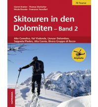 Skitourenführer Österreich Skitouren in den Dolomiten, Band 2 Tappeiner Verlag