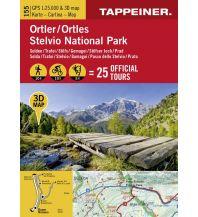 Wanderkarten 3D-Wanderkarte Ortlergebiet Tappeiner Karten