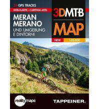 Mountainbike-Touren - Mountainbikekarten Moutainbike-Karte Meran und Umgebung 1:35.000 Tappeiner Karten
