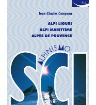 Skitourenführer Campana Jean-Charles - Scialpinismo nelle Alpi Liguri, Alpi Marittime, Alpes de Provence Blu Edizioni