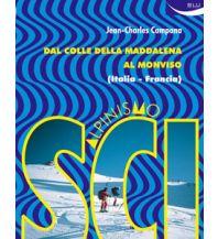 Skitourenführer Italienische Alpen Scialpinismo dal Colle della Maddalena al Monviso Blu Edizioni