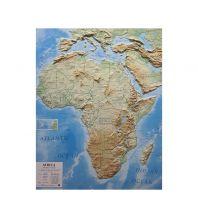 Geografie Global Map Reliefkarte Afrika - Africa / Afrika 1:14.000.000 Global Map