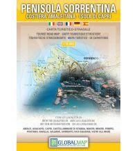 Wanderkarten Italien LAC Wanderkarte Italien - Penisola Sorrentina 1:25.000 Global Map