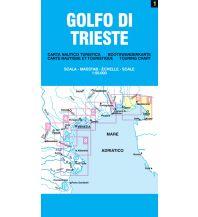 Seekarten Italien Lagunenkarte 01 - Golfo di Trieste / Golf von Triest 1:50.000 Belletti Editore