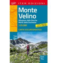 Wanderkarten Apennin Iter Trek Map Monte Velino 1:25.000 Edizioni Iter