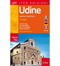 Stadtpläne Iter Plastic Map Italien - Udine 1:50.000 Edizioni Iter