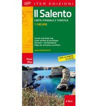 Straßenkarten Iter Straßenkarte Italien - Il Salento 1:100.000 Edizioni Iter
