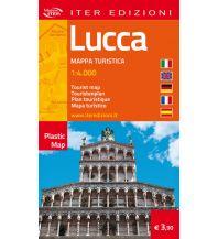 Stadtpläne Iter Plastic Map Italien - Lucca 1:4.000 Edizioni Iter