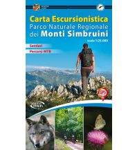 Wanderkarten Iter Carta Escursionistica Italien Außeralpin - Monti Simbruini 1:25.000 Edizioni Iter