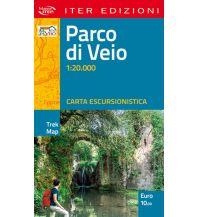 Wanderkarten Apennin Iter Trek Map Parco di Veio 1:20.000 Edizioni Iter