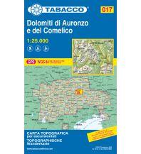 Skitourenkarten Tabacco-Karte 017, Dolomiti di Auronzo e del Comelico 1:25.000 Casa Editrice Tabacco