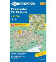 Skitourenkarten Tabacco-Karte 039, Passeiertal/Val Passiria 1:25.000 Casa Editrice Tabacco