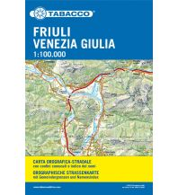 Straßenkarten Italien Tabacco Straßenkarte Friaul-Julisch-Venetien 1:100.000 Casa Editrice Tabacco