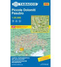 Skitourenkarten Tabacco-Karte 056, Piccole Dolomiti/Kleine Dolomiten, Pasubio 1:25.000 Casa Editrice Tabacco