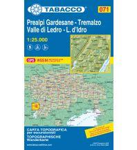 Skitourenkarten Tabacco-Karte 071, Prealpi Gardesane, Tremalzo, Valle di Ledro, Lago d'Idro 1:25.000 Casa Editrice Tabacco