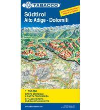 Straßenkarten Italien Tabacco Straßenkarte Südtirol/Alto Adige, Dolomiten/Dolomiti 1:150.000 Casa Editrice Tabacco