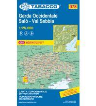 Wanderkarten Italien Tabacco-Karte 078, Garda Occidentale, Salò, Val Sabbia, Lago d'Idro 1:25.000 Casa Editrice Tabacco