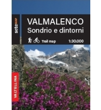 Sete Map Italien Alpin - Valmalenco, Sondrio e dintorni 1:30.000 SeTeMap
