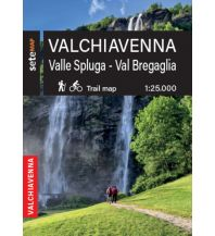 Sete Map Italien Alpin - Valchiavenna, Valle Spluga, Val Bregaglia 1:25.000 SeTeMap